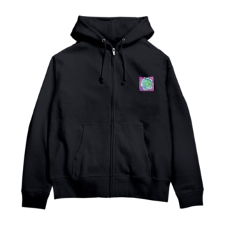 緑の閃光 Zip Hoodies