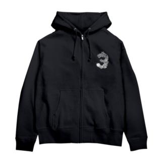 龍神 Zip Hoodies