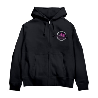 ♥Life is what you make it.!  ☆ Look on the bright side♪WE.keita白 Zip Hoodies
