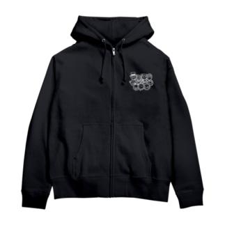 UCRcrew Zip Hoodies