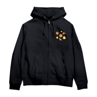 citrus fruits Zip Hoodies