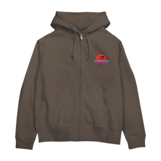 蒸気波1990s Zip Hoodies