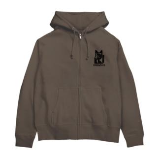 MANEKINEKO / 招き猫 Zip Hoodies