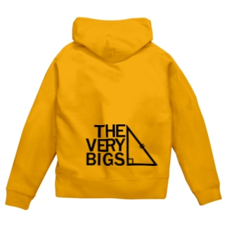 THE VERY BIGSオフィシャルグッズ【黒】 Zip Hoodies