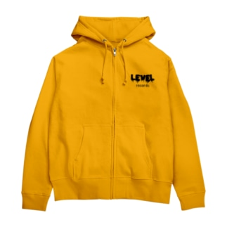 LEVEL of LEVEL Zip Hoodies
