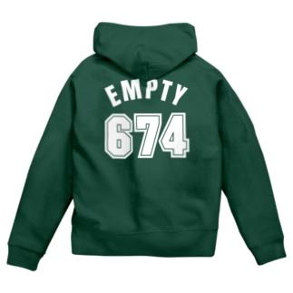 674 Zip Hoodies