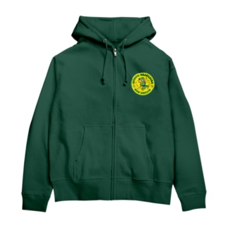papagaioPeito01 Zip Hoodies