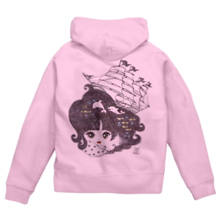 from diary pict.ship Zip Hoodies