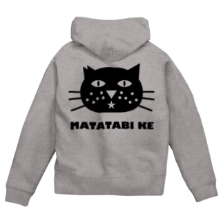 またたび桜CAT★♂ Zip Hoodies