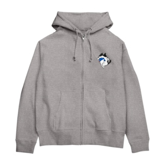 泥棒猫 Zip Hoodies