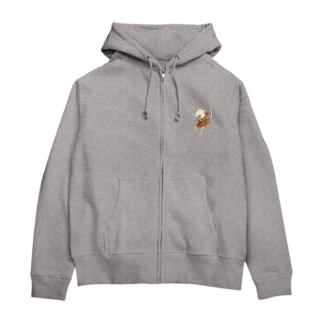 ポルタ Zip Hoodies