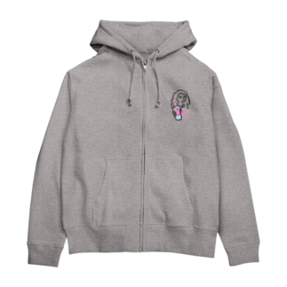 ジップパーカー濃色【TAKE OFF THE CAP】】 Zip Hoodies