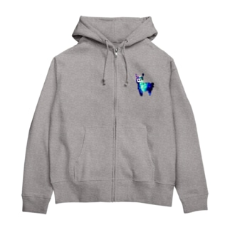 from Aの宇宙アルパカ Zip Hoodies