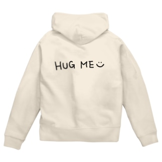 HUG ME☺︎ Zip Hoodies