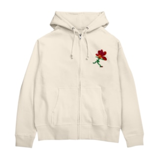 ふらわー? Zip Hoodies