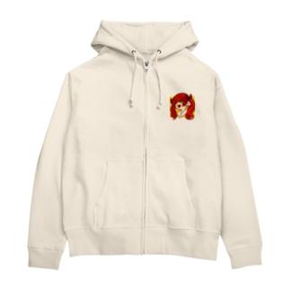 赤髪JK Zip Hoodies
