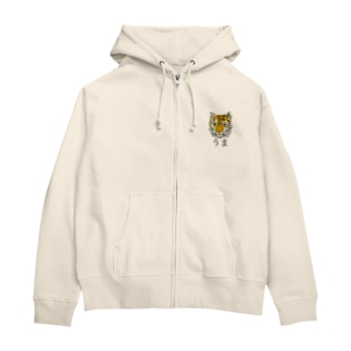 うま。 Zip Hoodies