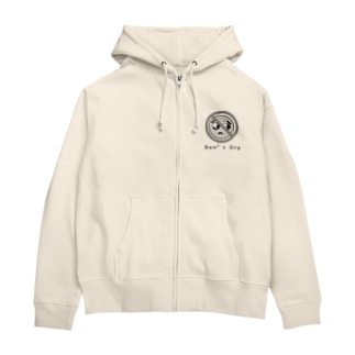 Don't Cry  Zip Hoodie