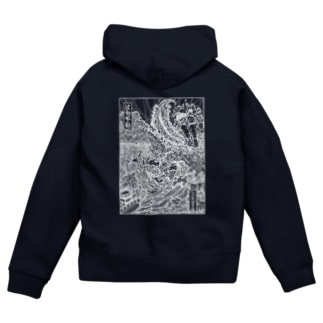 波切・空海(W) Zip Hoodies