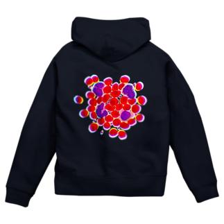 blood cells〜血球〜 Zip Hoodies