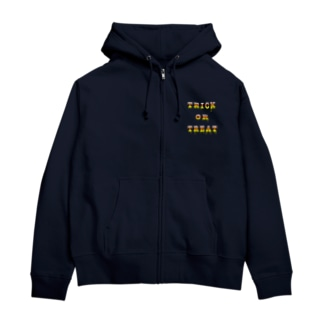 Candy Cone Trick or Treat Zip Hoodies