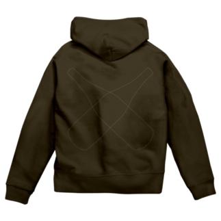 2-SHO-BIN Zip Hoodies