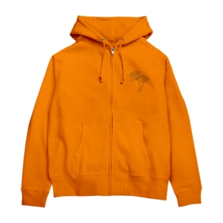 モノクロ_r Zip Hoodies