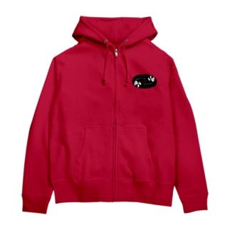 薔薇の還暦トレーナーTシャツ Zip Hoodies