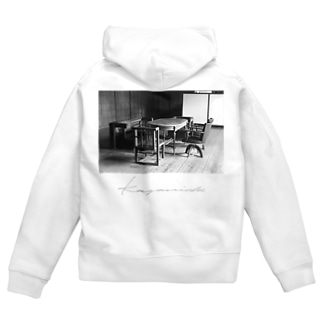 """a Room for the """"Time"""" BW 2 Zip Hoodies"""