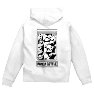【PANDA BOTTLE】 Zip Hoodies