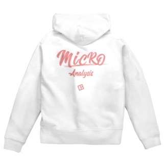 WEBPLAのMICROANALYSIS Zip Hoodies