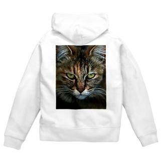 CAT Zip Hoodies