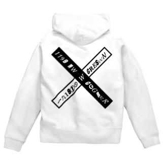 CROSS Zip Hoodies
