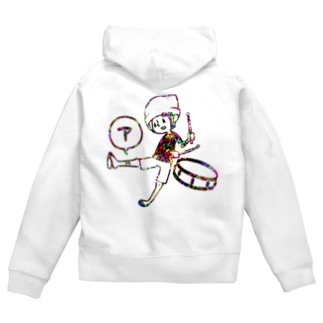 スネ「ア」 Zip Hoodies