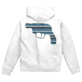 Gun2 Zip Hoodies