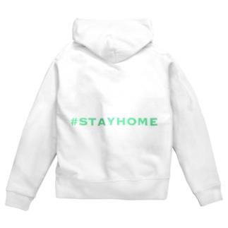 #STAYHOME Zip Hoodies