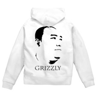 GRIZZLY工藤【gri003】 Zip Hoodies