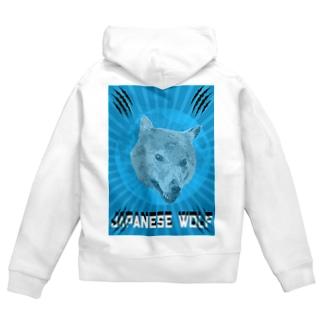 🐺Japanese Wolf 🐺 Zip Hoodies