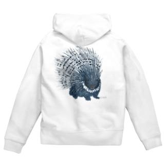 Porcupine  Zip Hoodies