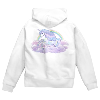 ☆Rainbow Unicorn .☆*+.:+ 5 Zip Hoodies