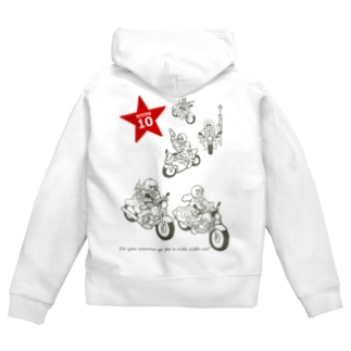 LaLaLa RIDE Zip Hoodies