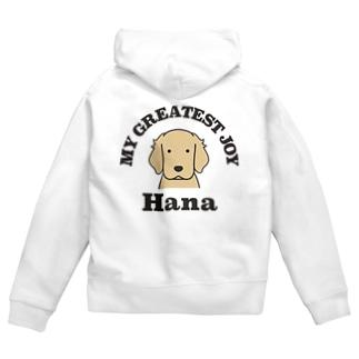 Hana Zip Hoodies