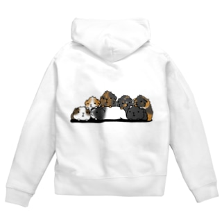 まっちゃfamily Zip Hoodies
