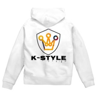 K-STYLE Zip Hoodies