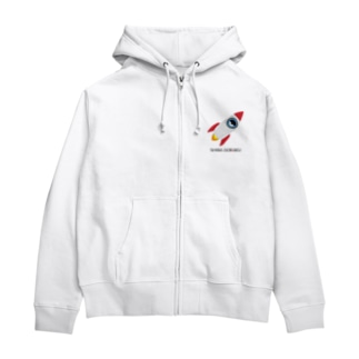 SHIBADORAKU ROCKET Zip Hoodies