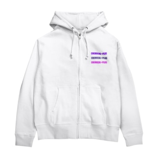 CHEMICAL+PLUS Zip Hoodies