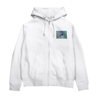 Dragon Galleryの愛は結ばれる Zip Hoodies