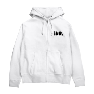 定番のiKR, Zip Hoodies