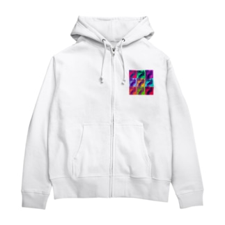 SAIGO-KEN Zip Hoodies