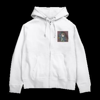 はーくゆ🐧のだぼだぼ#1 Zip Hoodies